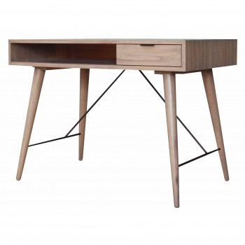 Franco Desk, Gray Wash by NPD (New Pacific Direct)