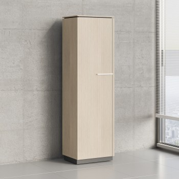 Status 1 Left Door Storage Cabinet X56, Canadian Oak