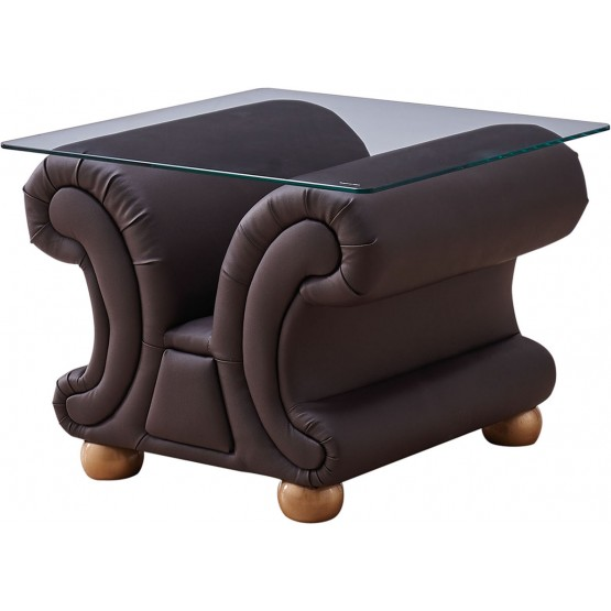 Apolo End Table, Brown photo