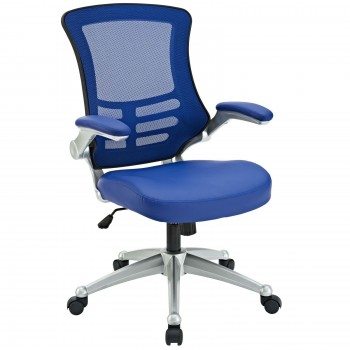 Attainment Office Chair, Blue by Modway