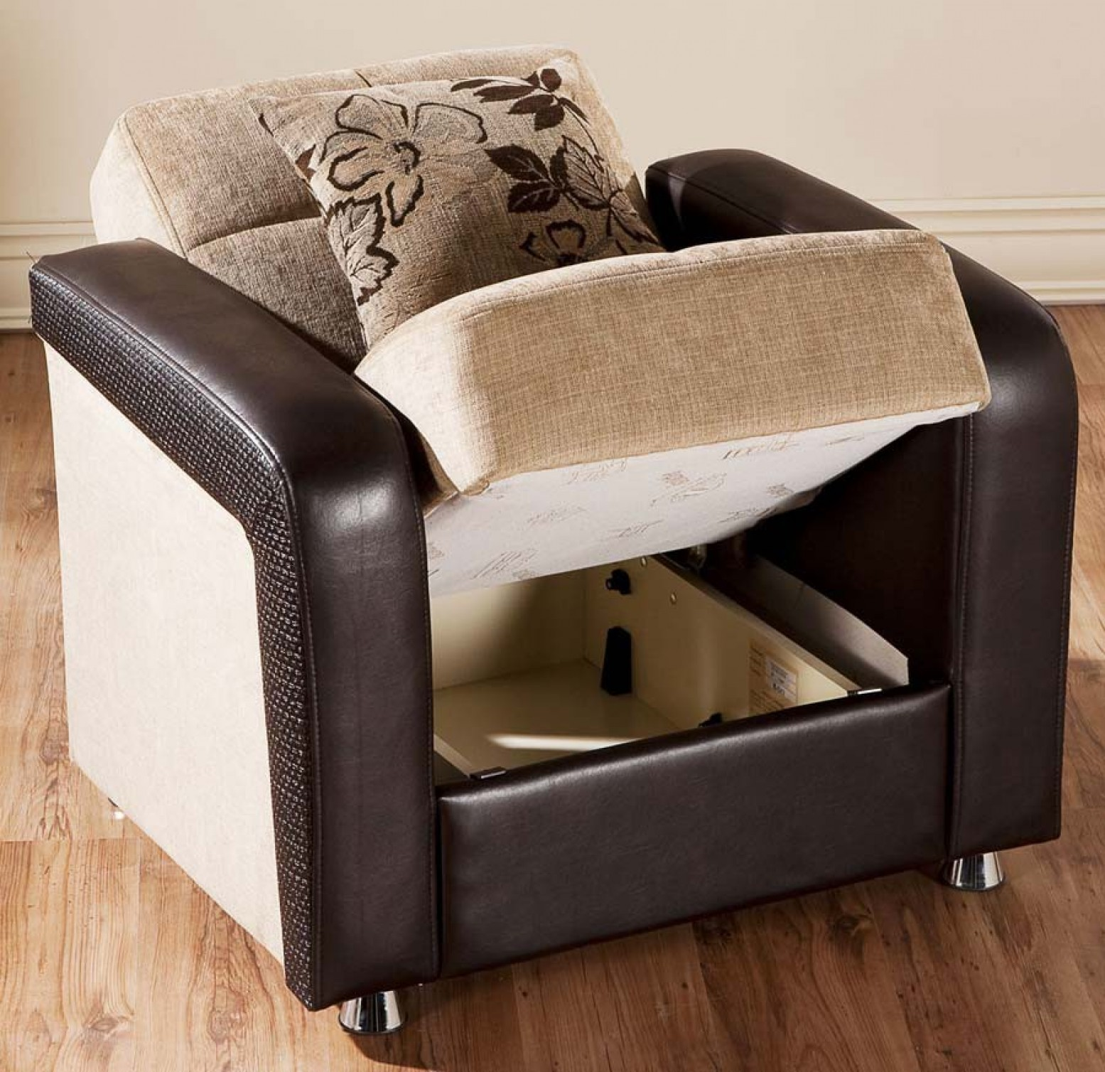 Vision Sleeper Armchair, Benja Light Brown Buy Online at ...