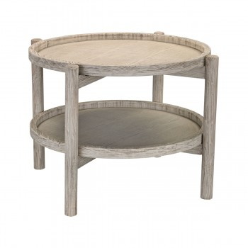 Driftwood Finish Side Table
