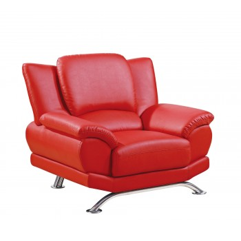 U9908 Chair, Red by Global Furniture USA