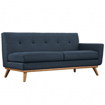 Engage Right-Arm Loveseat, Azure by Modway