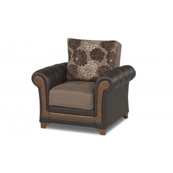 Dream Decor Chair, Brown by Casamode