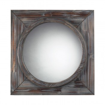Bronwood Wall Mirror In Reclaimed Wood
