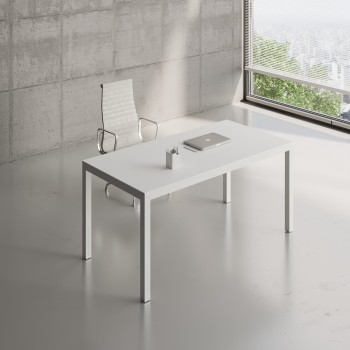 Impuls Desk IM04, All White Pastel
