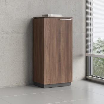 Status 1 Left Door Storage Cabinet X36, Lowland Nut