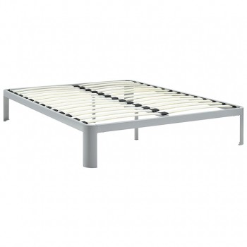 Corinne Queen Bed Frame, Gray by Modway