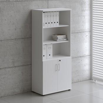 Basic K5404 2-Door Storage, White