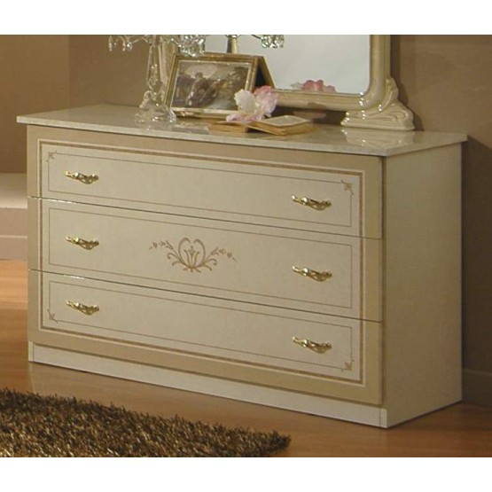 Gioia Single Dresser, Ivory photo