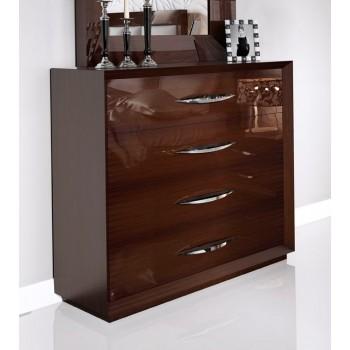 Carmen Single Dresser, Walnut