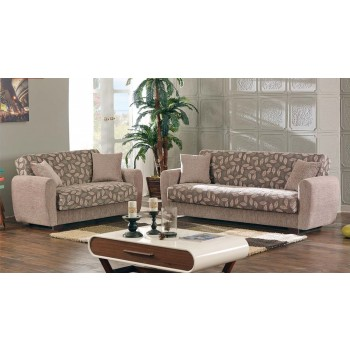 Chestnut 2-Piece Living Room Set