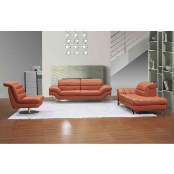 Astro Living Room Set, Pumpkin by J&M Furniture