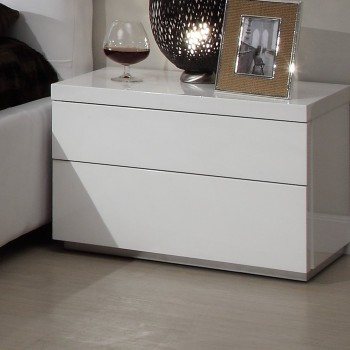 Athens Nightstand, White
