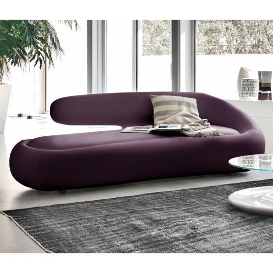 Duny Sofa, Purple Leather photo