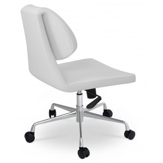 Gakko Office Chair, Base A3, White PPM photo