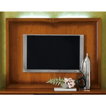 Nostalgia Plasma TV Wall Panel, Walnut