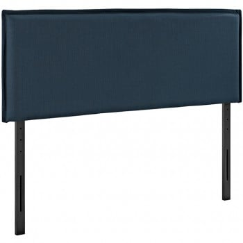 Camille King Fabric Headboard, Azure by Modway