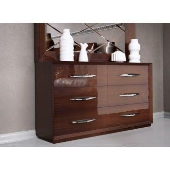 Carmen Double Dresser, Walnut