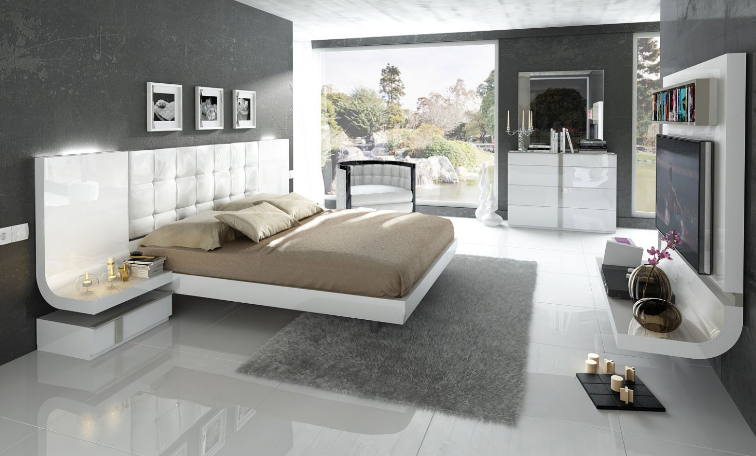 Granada King Size Bedroom Set Buy Online At Best Price