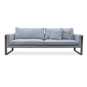 Boston Sofa, Silver Camira Wool by SohoConcept Furniture