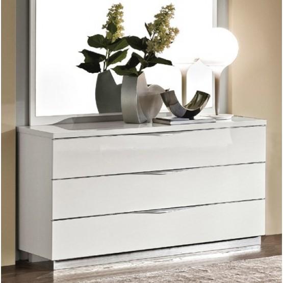 Onda Single Dresser, White photo