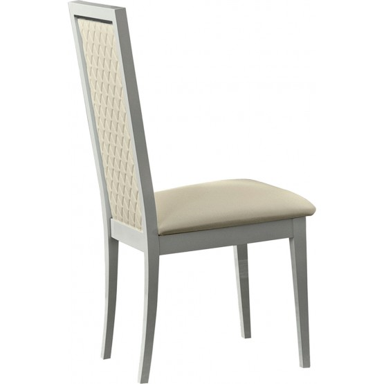 Roma Dining Side Chair, White photo