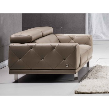 S116 Loveseat, Taupe