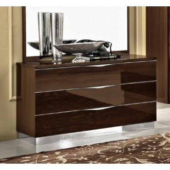 Onda Single Dresser, Walnut