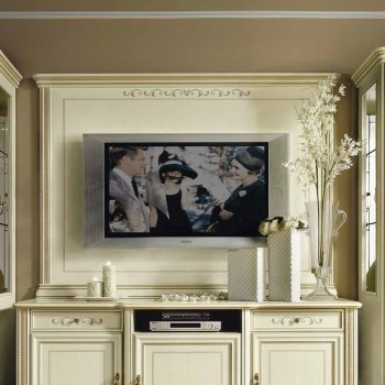 Siena Plasma TV Wall Panel, Ivory