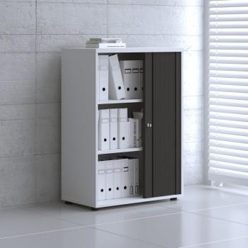 Tambour Pro Storage Unit IA3L04, White + Black Front