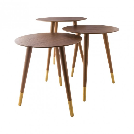 Jetset Accent Table, Set of 3 photo
