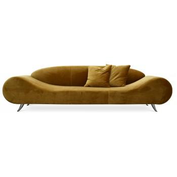 Harmony Sofa, Gold Velvet by SohoConcept Furniture