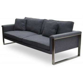 Boston Sofa, Dark Grey Tweed by SohoConcept Furniture