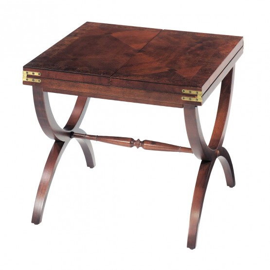Aderley Cocktail Table With Vintage Mahogany Finish photo