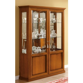 Nostalgia 2-Door Vitrine, Walnut