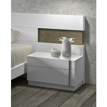 Amora Night Stand, Right Facing by J&M Furniture