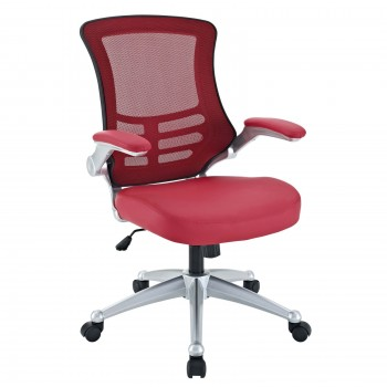 Attainment Office Chair, Red by Modway