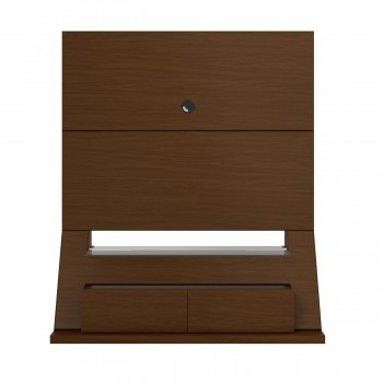 Intrepid Theater Stand, Nut Brown