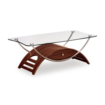 T63WC Coffee Table, Mahogany by Global Furniture USA