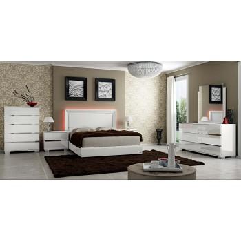 Live 3-Piece Queen Size Bedroom Set, White