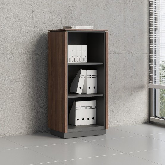 Status Open Storage Cabinet X39, Lowland Nut photo