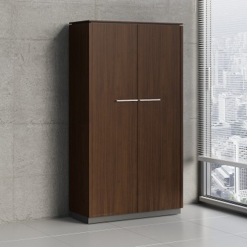 Status 2 Door Storage Cabinet X51, Chestnut