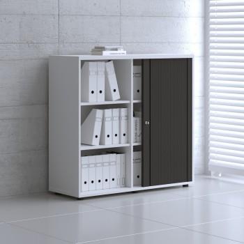 Tambour Pro Storage Unit IA3L06, White + Black Front