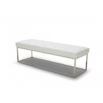Chelsea Lux Bench, White