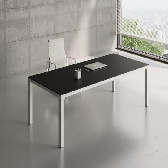 Impuls Desk IM06, White Pastel + Black photo