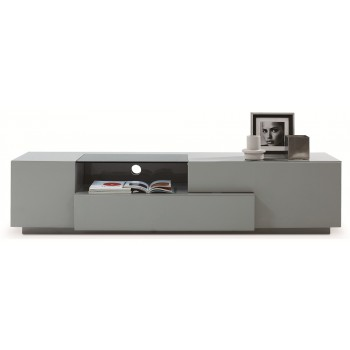015 TV Stand, Grey High Gloss by J&M Furniture