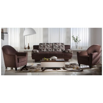Fantasy 2-Piece Living Room Set, Aristo Burgundy