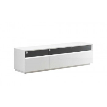 023 TV Stand, White High Gloss